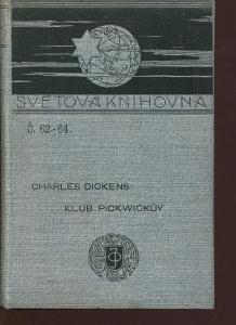 Klub Pickwickův, dílu I., část 1. (Ottova Světová kni