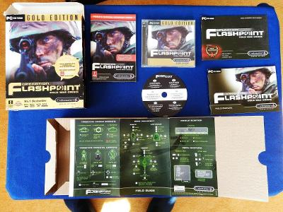 PC - OPERATION FLASHPOINT COLD WAR CRISIS GOLD EDITION- BIG BOX (2001)