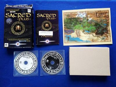 PC - SACRED +PLUS+ - BIG BOX malý (RPG jako DIABLO) (retro 2004) Top
