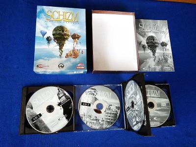 PC - SCHIZM MYSTERIOUS JOURNEY - 5xCD - BIG BOX malý (retro 2001) Top