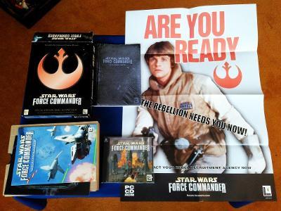 PC - STAR WARS FORCE COMMANDER SPECIAL EDIT. - BIG BOX (retro 2000)Top