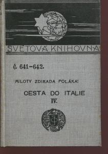 Cesta do Italie IV. (Ottova Světová knihovna)
