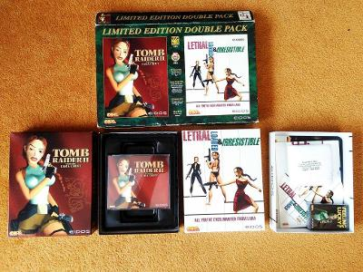 PC - TOMB RAIDER 2 LIMITED EDITION DOUBLE PACK BIG BOX (retro 1997)Top