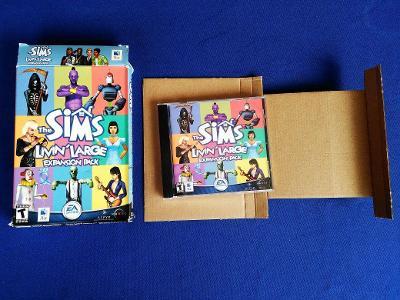 PC - THE SIMS LIVIN´ LARGE expans.pack - BIG BOX malý (retro 2002) Top