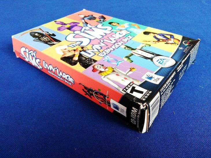PC - THE SIMS LIVIN´ LARGE expans.pack - BIG BOX malý (retro 2002) Top - Hry