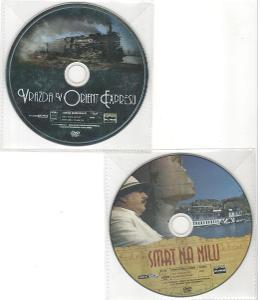 Smrt na Nilu, Vražda v Orient Expresu - 2x DVD Agatha Christie