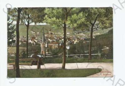 Trutnov pohled na město z výšky