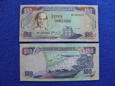 50 Dollars 15.1.2007 Jamaica - P83b - UNC - /C46/