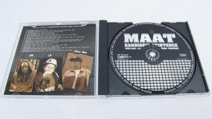 MAAT KANDIDÁTI EXISTENCE CD - Hudba