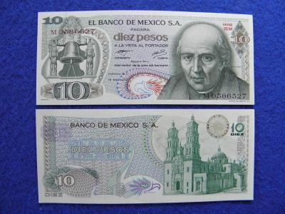 10 Pesos 18.2.1977 Mexico - P63i - UNC - /C47/