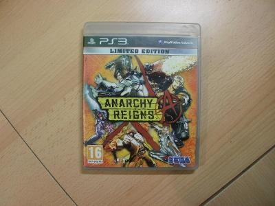 Hra na Ps 3 - Anarchy Reigns - Anglický manuál