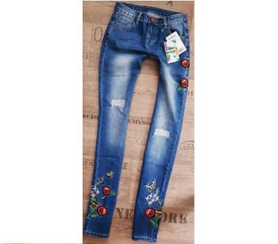 DESIGUAL luxusní džíny NOVÉ s visačkou! Originál!