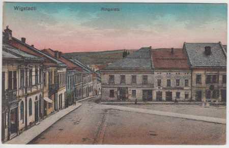 Vítkov (Wigstadtl), náměstí