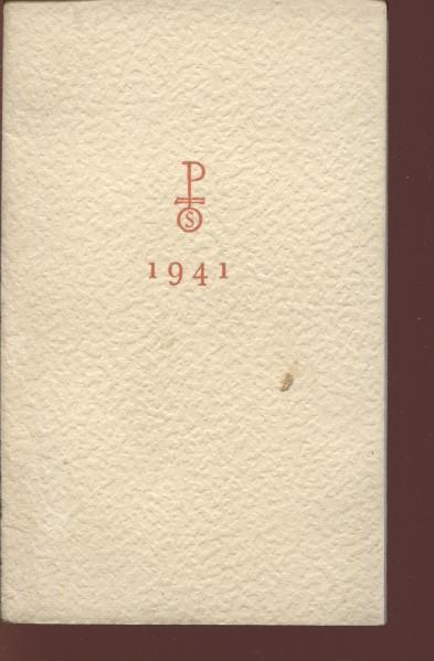 Kalendář 1941