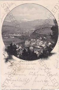 Trutnov (Trautenau), pohled na město z výšky, kolá