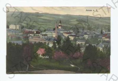 Hostinné Trutnov pohled na město z výšky