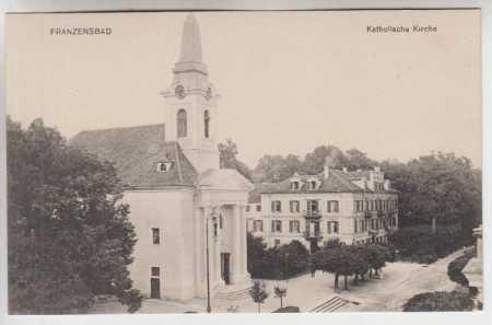 Františkovy Lázně (Franzensbad), katolický kostel