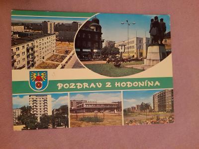 Pohlednice POZDRAV Z HODONÍNA,prošlé poštou