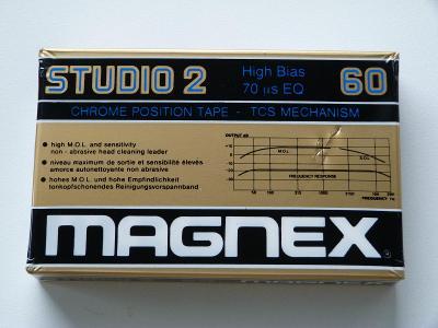 kazeta Magnex Studio 2 60, typ II