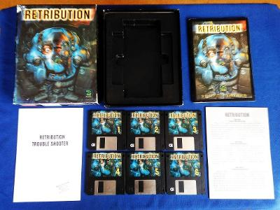 PC - RETRIBUTION - 6x disketa 3.5 - BIG BOX (retro 1994) Top