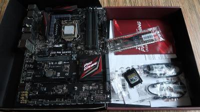 ASUS Z170 PRO GAMING + i7-6700K + DDR4 16GB 3200MHz Corsair Vengeance