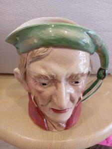 Starožitný figurální korbel .