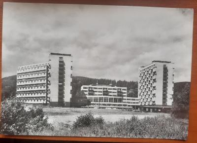 LITVÍNOV   - Kolektivni dům - STARÁ HISTORICKÁ POHLEDNICE