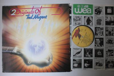 Ted Nugent – 2 Originals Of Ted Nugent 2xLP 1977 vinyl super stav EX+