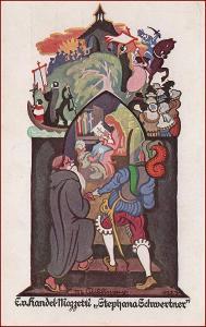 Handel Mazzetti * vánoční motiv, umělecká, gratulační * M3650