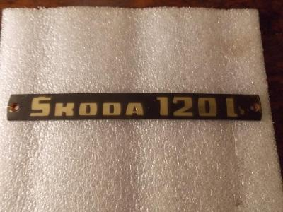 Znak Škoda 120L