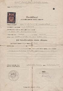 Osvědčení o státním občanství_Karlovy Vary_Mišíková Anna_Beroun_2379