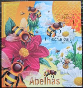 Mosambik 2013 Včely Mi# Block 770 Kat 10€ 2447
