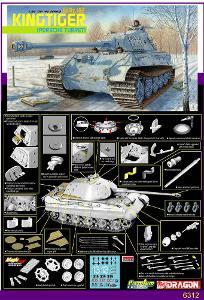 RARE DRAGON 1/35 Sd.Kfz 182 KINGTIGER PORSCHE Premium EDICE