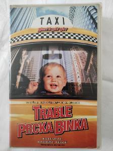 VHS Trable prcka Binka