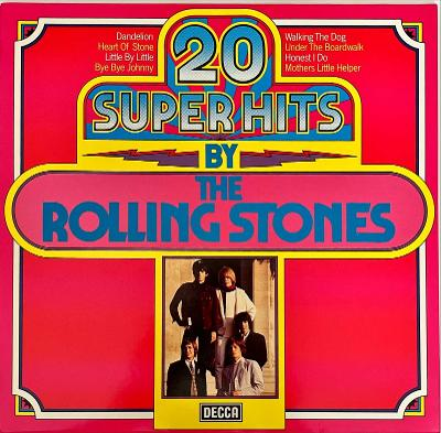 LP The Rolling Stones – 20 Super Hits, NM-, 1978, vypraná