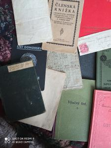 Staré dokumenty písemnosti