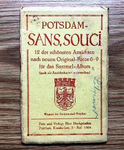 POSTUPIM, POTSDAM SANS SOUCI - SOUBOR 12 POHLEDNIC