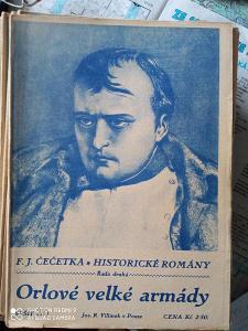 Časopis Orlové Velké Armády rok 1923  celkem 40 ks