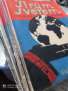 Časopis širým světem rok 1924