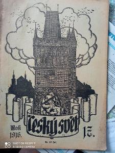 Časopis Český svět 1913 až 1919