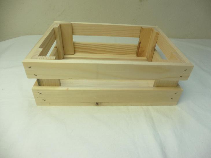 Dřevěná  bedýnka - Zařízení