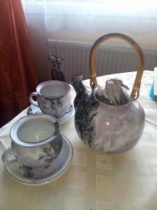 čajová či kávová souprava