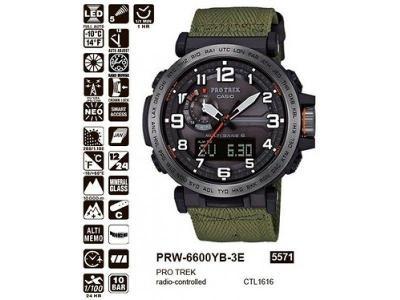 Casio PRW-6600YB-3ER záruka do 25.3.2026