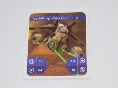 KARTIČKA STAR WARS 10 (KAUFLAND)