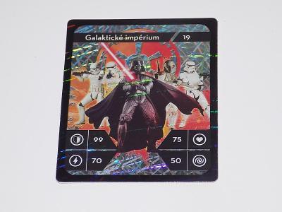 KARTIČKA STAR WARS 19 (KAUFLAND)