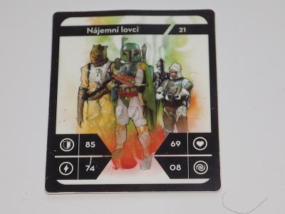 KARTIČKA STAR WARS 21 (KAUFLAND)