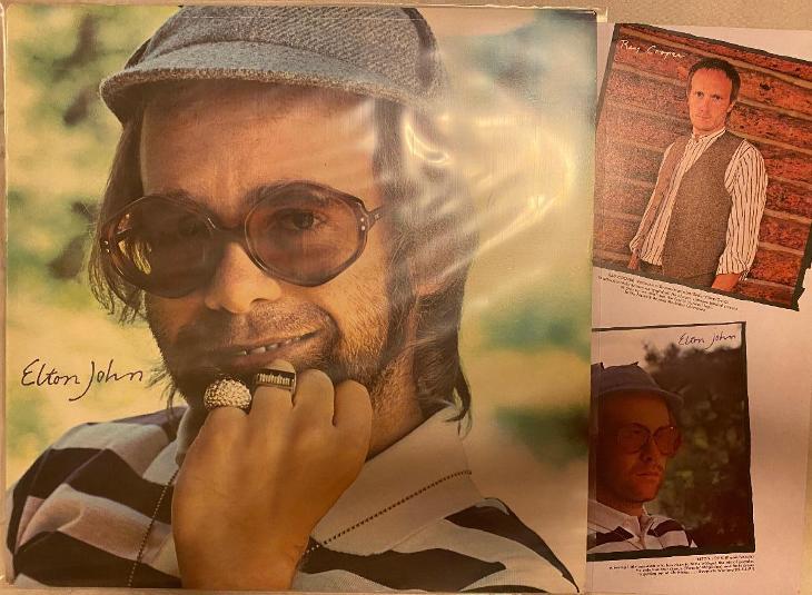 LP ELTON JOHN - Rock of the westies (UK) - Hudba