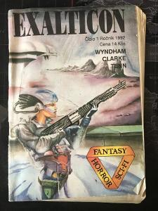 Sci - Fi * číslo - 1 ročník 1992 * Exalticon * Wyndham Clarke Tenn