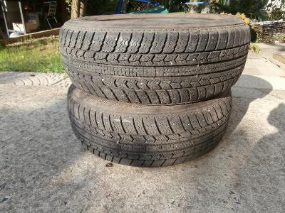 2 X pneu 185- 60 /14 M+S KLEBER
