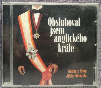 CD - Soundtrack - Obsluhoval jsem anglického krále , CD V PĚKNÉM STAVU